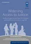 New report informs about legal aid workshop